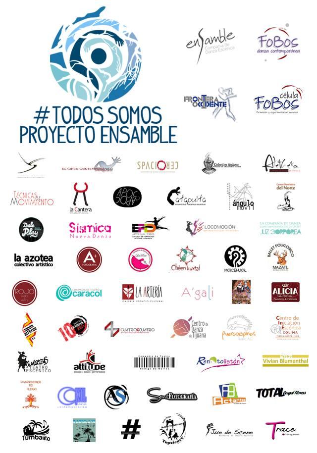 Distintas agrupaciones, proyectos, colectivos y compañías de danza manifestaron su respaldo a Proyecto Ensamble.